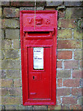 TM4899 : Ashby Dell Victorian Postbox by Adrian Cable