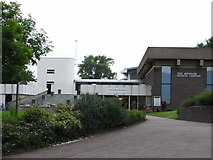 SP0483 : University of Birmingham - former Munrow Sports Centre by Chris Allen