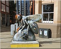 SJ8498 : The Federation Bee  by Gerald England