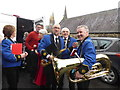 H4472 : Members of St. Eugene's Brass Band, Omagh by Kenneth  Allen