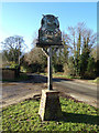TM4899 : Ashby Village sign by Adrian Cable