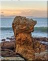 NJ1570 : Rock Outcrop Hopeman by valenta