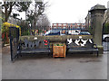 SE2435 : Bramley Park: memorial benches (1 & 2) by Stephen Craven