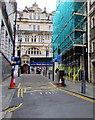 ST3188 : One-way Corn Street, Newport by Jaggery