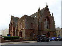 NS3230 : Troon Old Parish Church by Thomas Nugent