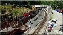 SH6441 : Tan-y-Bwlch Station, Ffestiniog Railway by Colin Park