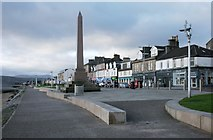 NS2982 : Monument to Henry Bell, West Clyde Street, Helensburgh by Richard Sutcliffe