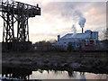 SJ5987 : Transporter bridge and chemical works, Warrington by Chris Allen