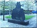 SP0787 : Tony Hancock memorial, Old Square, Birmingham by Colin Cheesman