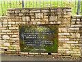 SJ7949 : The Thomas Boughey Academy, Halmer End - 1873 datestone by Stephen Craven