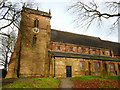 SJ7950 : Church of St James the Great, Audley by Stephen Craven