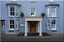 SO2956 : The front of The Burton Hotel by Philip Halling