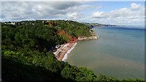 SX9265 : Babbacombe - View to Oddicombe Beach by Colin Park