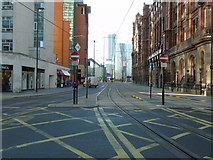 SJ8397 : St Peter's Square to Deansgate Square by Carroll Pierce