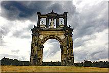 SJ9821 : Hadrian's Arch at Shugborough Park by Jeff Buck
