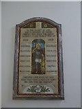 TQ0165 : Holy Trinity, Lyne: memorial (5) by Basher Eyre
