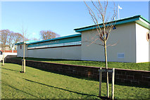 NS6113 : New Cumnock Swimming Pool by Billy McCrorie