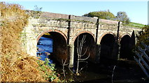 SD7506 : Prestolee Aqueduct over R Irwell by Colin Park