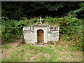 SX1868 : The holy well at St Neot - housing by Stephen Craven