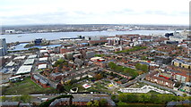 SJ3589 : Liverpool Anglican Cathedral - View W from tower by Colin Park