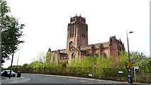 SJ3589 : Liverpool Anglican Cathedral as seen from W end of Canning St by Colin Park