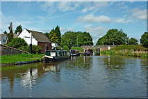 SJ9922 : Trent and Mersey Canal north of Great Haywood Junction by Roger  Kidd