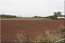 SP2594 : Arable farmland by Willowbrook Farm by Bill Boaden