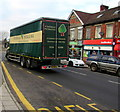 ST1888 : Pontrilas Packaging lorry on the A468 Newport Road, Trethomas by Jaggery