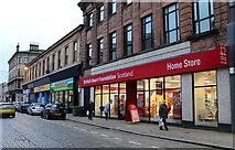 NS2776 : British Heart Foundation Home Store, Greenock by Thomas Nugent