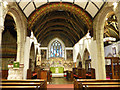 SX0152 : Holy Trinity church, St Austell, chancel by Stephen Craven