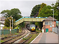 SX0152 : St Austell station - west end by Stephen Craven