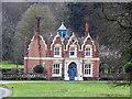 TL9097 : Gatehouse at Merton Hall by Adrian S Pye