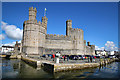 SH4762 : Caernarfon Castle from the West by Jeff Buck