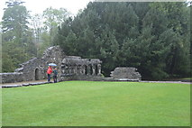 M1455 : Cloister, Cong Abbey by N Chadwick