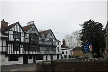 TQ4493 : The King's Head on Chigwell High Road by David Howard