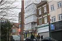 TQ4193 : Shops on Queen's Road, Buckhurst Hill by David Howard