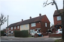 TQ4692 : Houses on New North Road, Hainault by David Howard