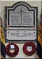 TG1901 : Mulbarton War Memorials by Adrian S Pye
