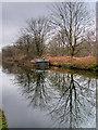 SJ7992 : Barge on the Bridgewater Canal near Stretford by David Dixon