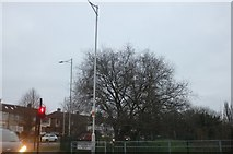 TQ4191 : Broadmead Road at the junction of Chigwell Road by David Howard