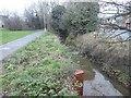 SK5218 : The Wood Brook and Woodbrook Way, Loughborough by David Smith