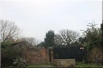 TQ4495 : No way in, Chigwell High Road by David Howard