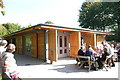 SO5719 : Visitor Centre, Shop & Cafe at Goodrich Castle by Colin Cheesman