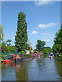 SJ8710 : Shropshire Union Canal near Stretton, Staffordshire by Roger  Kidd