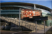 TQ3185 : Emirates Stadium from Hornsey Road by Christopher Hilton