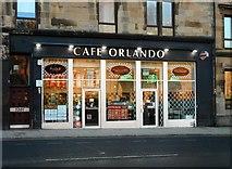 NS5666 : Cafe Orlando, Argyle Street by Richard Sutcliffe