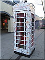 SJ4174 : A designer phone box at Cheshire Oaks Outlet Village by John S Turner