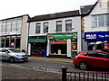 ST1586 : Caerphilly Phones shop, Cardiff Road, Caerphilly by Jaggery