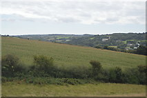 SW7545 : Cornish farmland by N Chadwick