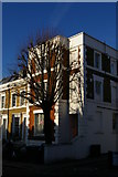 TQ2985 : House at junction of Leighton Road and Charlton Kings Road by Christopher Hilton